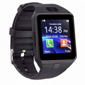 Умные часы Smart Watch DZ09 GSM Camera Black