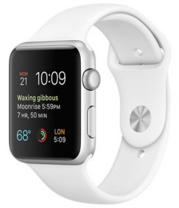 Смарт-часы Apple Watch Sport 42mm Silver Aluminum Case with White Sport Band (MJ3N2)