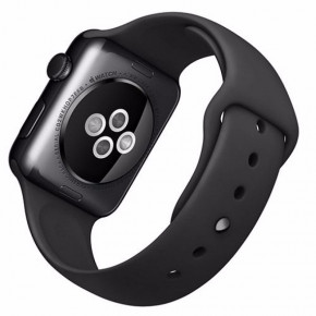 Смарт-часы Apple Watch Series 1 Sport 42mm Space Grey Aluminium Case with Black Sport Band (MP032) 4