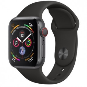 Смарт-часы Apple Watch Series 4 GPS + LTE 40mm Gray Alum (MTUG2/MTVD2)
