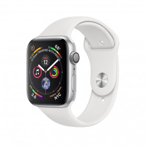 Смарт-часы Apple Watch Series 4 GPS 44mm Silver Alum (MU6A2)