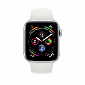Смарт-часы Apple Watch Series 4 GPS 44mm Silver Alum (MU6A2) 3