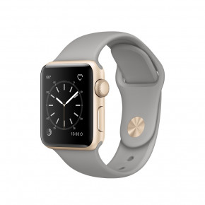 Смарт-часы Apple Watch Series 2 38mm Gold Aluminum Case with Concrete Sport Band (MNP22)