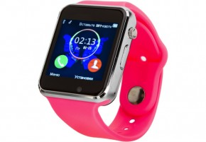 Смарт-часы Atrix Smart watch E07 Pink 2