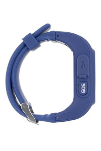 Смарт-часы детские Ergo GPS Tracker Kids K010 Dark Blue (GPSK010D) 3