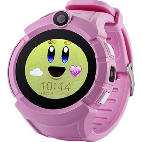 Смарт-часы UWatch Q610 Kid Pink 3