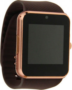 Смарт-часы UWatch Smart GT08 Gold/Brown