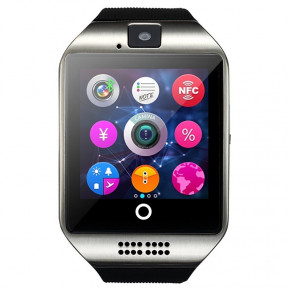 Смарт-часы UWatch Smart Q18 Black/Silver 3