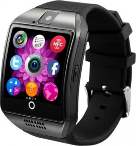 Смарт-часы UWatch Smart Q18 Black/Silver 2