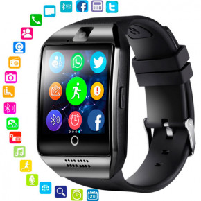 Смарт-часы Smart Q18 UWatch NFC Black 7