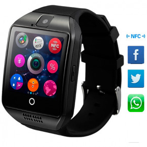 Смарт-часы Smart Q18 UWatch NFC Black 8