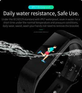 Смарт-часы с сим-картой Smart Skmei Braclet Nano B30 5099 Black 10