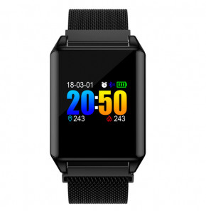 Фотография Смарт-часы Smart Z100 Plus 5098 UWatch Black (1)