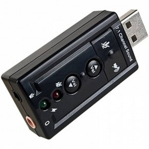 Звуковая плата Dynamode C-Media USB 8 3D RTL (USB-SOUND7)