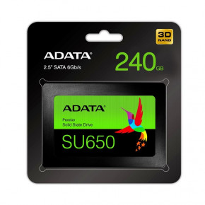 Накопитель SSD A-Data 2.5 SATA 240Gb Ultimate SU650 (ASU650SS-240GT-R) 6