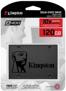Накопитель SSD 2.5 Kingston A400 120GB SATA TLC (SA400S37/120G) 3