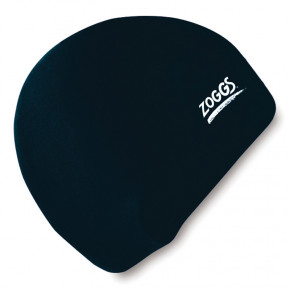 Шапочка для плавания Zoggs Junior Silicone Cap Black (300709BLK)