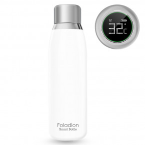 Смарт-термос Foladion Smart Water Bottle 500ml Stainless Steel White