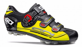 Велотуфли МТБ Sidi Eagle 7 Black/Yellow/Black 46
