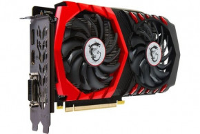 Видеокарта MSI GeForce GTX 1050Ti GAMING X 4G 3