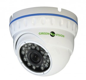 Купольная Камера IP GreenVision GV-003-IP-E-DOSP14-20