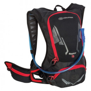 Рюкзак спортивный Highlander Raptor Hydration Pack 15 Black/Red (924217)